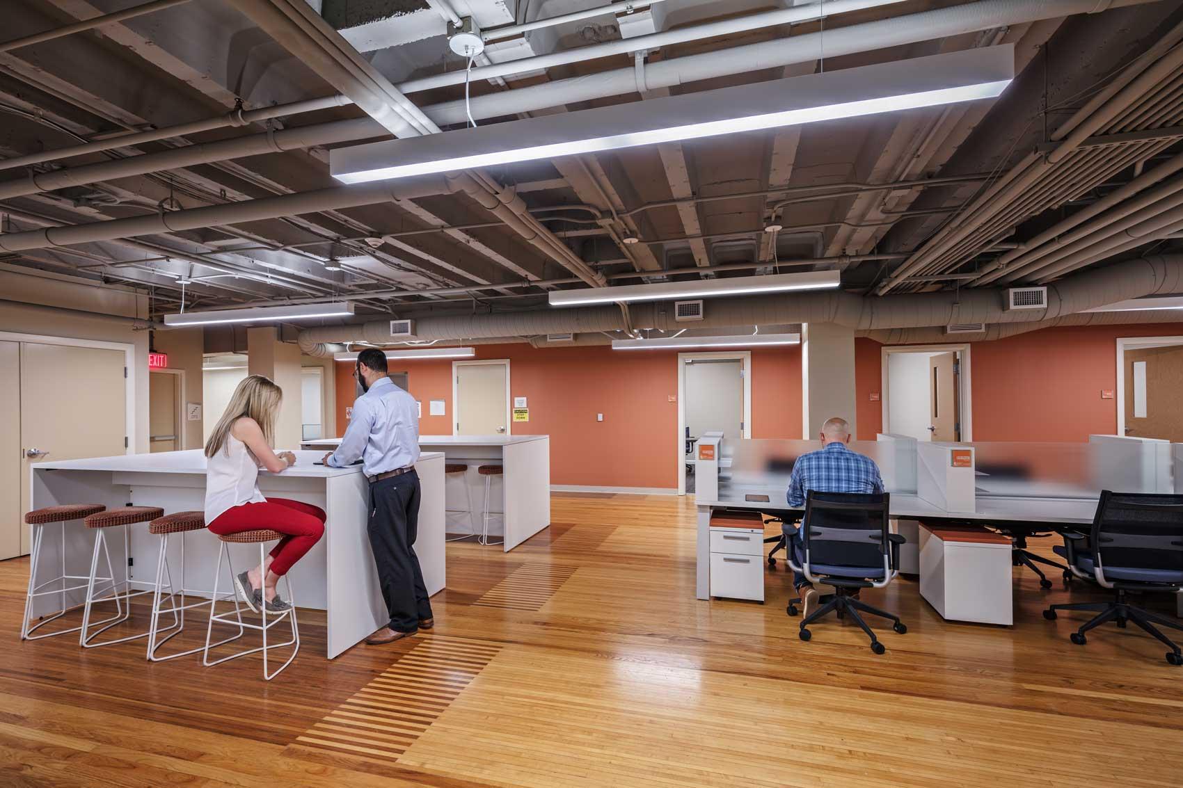 Columbus ywca berardi partners for Select kitchen design columbus ohio